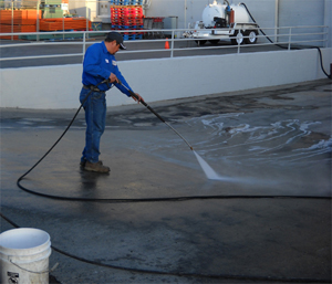 Surface Pressure Washing and Steam Cleaning